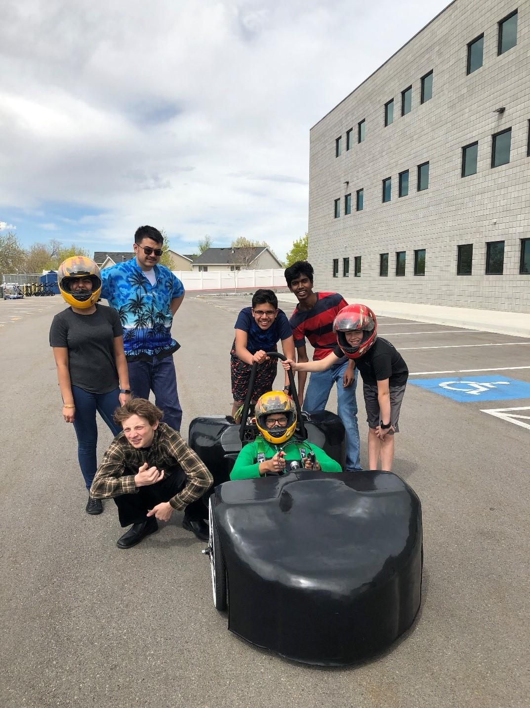 APA Draper 3 Race Team, Greenpower Challenge