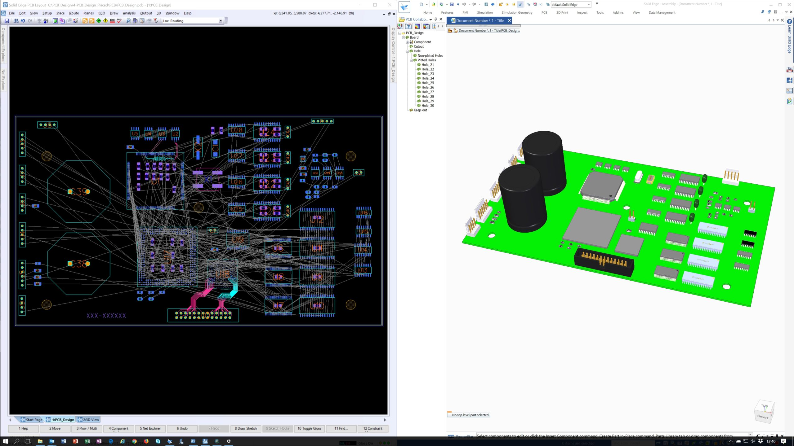 Maximizing The Benefits Of Electromechanical Collaboration In Pcb Design Solid Edge