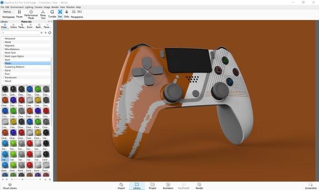 Controller-Orange