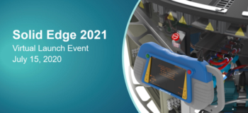 Solid Edge 2021 Virtual Launch: Save the Date